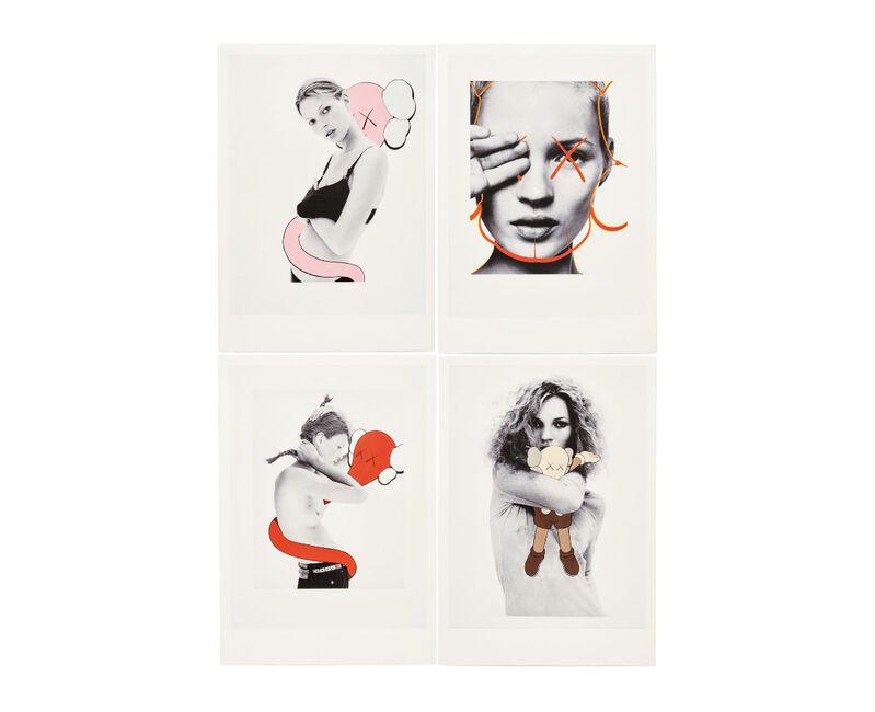 KAWS, 'KAWS x NGV Postcard (Set of 4) (Kate Moss)', 2019, Print, Paper, Curator Style