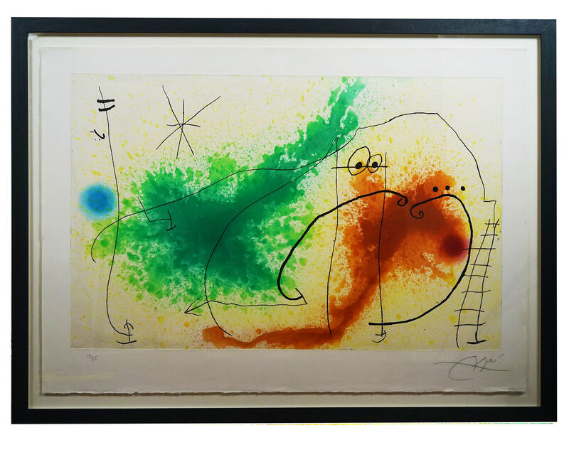 Joan Miró, 'Partie de Campagne IV', 1967, Print, Original Etching and aquatint in colours, on Mandeure rag paper, signed by the artist in pencil, Hidden