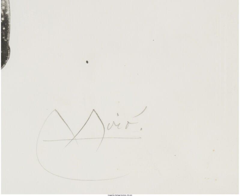 Joan Miró, 'El Pajaro Honda', 1965, Print, Lithograph on Rives BFK paper, Heritage Auctions