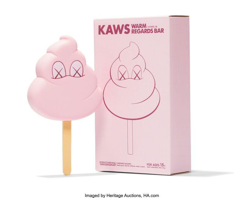 KAWS, 'Warm Regards Bar (Pink)', 2008, Sculpture, Painted cast vinyl, Heritage Auctions