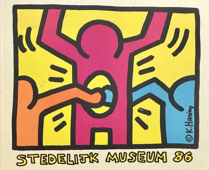 Keith Haring, 'Keith Haring Stedelijk Museum catalog 1986', 1986, Ephemera or Merchandise, Exhibition catalog featuring silkscreened cover, Lot 180