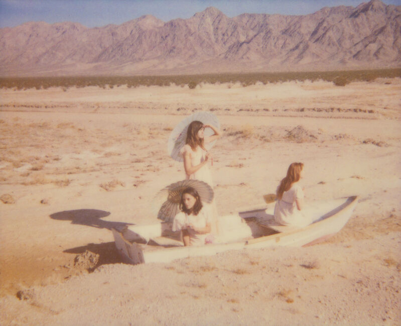 Stefanie Schneider, 'Dream Scene on Salt Lake', 2007, Photography, Analog C-Print based on a Polaroid, hand-printed by the artist on Fuji Crystal Archive Paper. Not mounted., Instantdreams