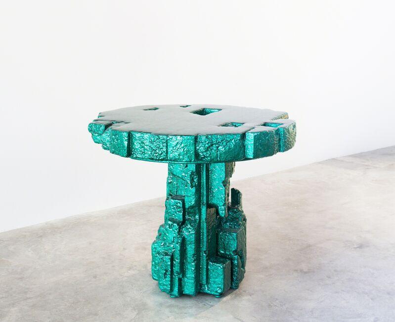 Chris Schanck, 'Spore', 2018, Design/Decorative Art, Steel, resin, polystyrene, aluminum foil, Friedman Benda