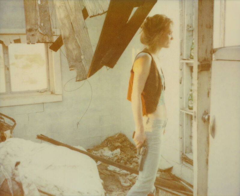 Stefanie Schneider, 'Dreamlife of Angels (Till Death do us Part)', 2007, Photography, Archival C-Print based on a Polaroid. Not mounted., Instantdreams