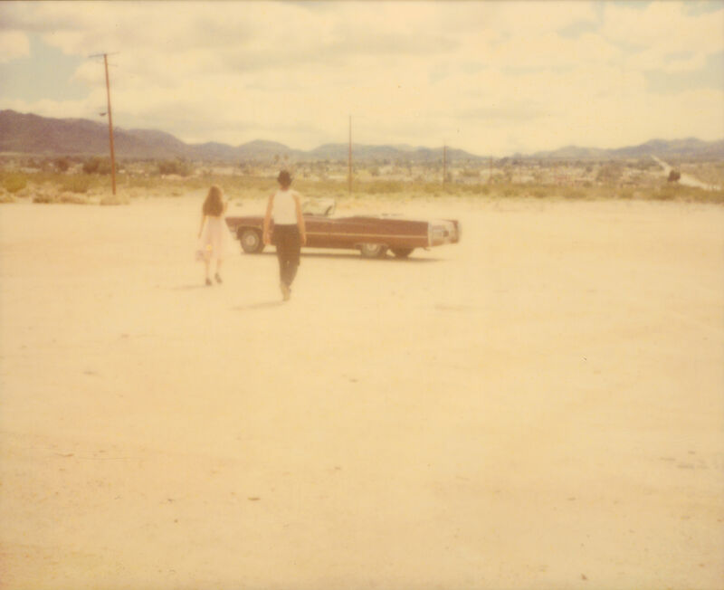 Stefanie Schneider, ''Running in Front of Church' (Sidewinder)', 2005, Photography, 4 analog C-Prints, hand-printed by the artist, based on 4 Polaroids, not mounted, Instantdreams