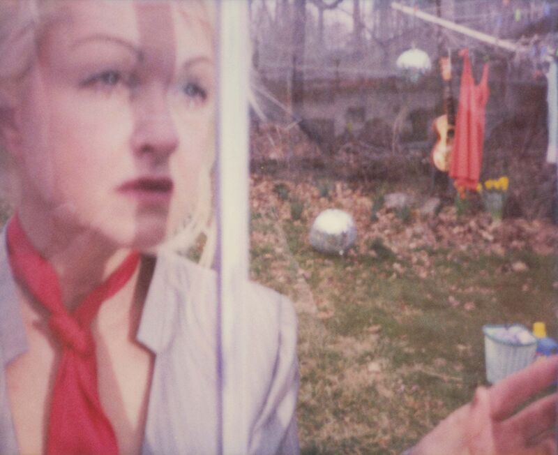 """Stefanie Schneider, ' 'Gelsomina II' """"Bring Ya to the Brink"""" (Cyndi Lauper record Album) ', 2009, Photography, Analog C-Print, hand-printed by the artist, based on a Polaroid., Instantdreams"""