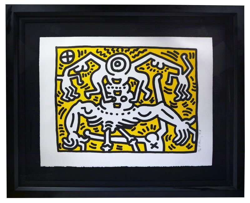 Keith Haring, 'Untitled (1986)', 1986, Print, Lithograph, Reuben Colley Fine Art