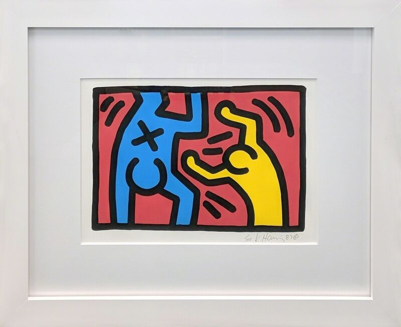 Keith Haring, 'Untitled D', 1987, Print, Lithograph on BFK Rives paper, Reuben Colley Fine Art