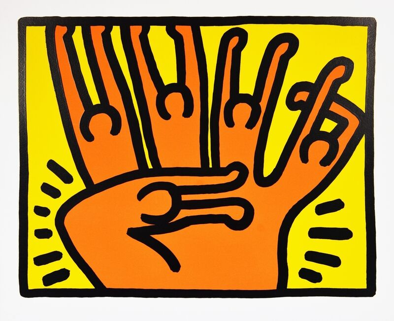 Keith Haring, 'Pop Shop VI', 1989, Print, Screenprint in colours, Forum Auctions