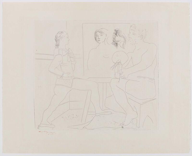 Pablo Picasso, 'L'Atelier', 1927, Print, Etching on BFK RIVES (watermark), Van Ham