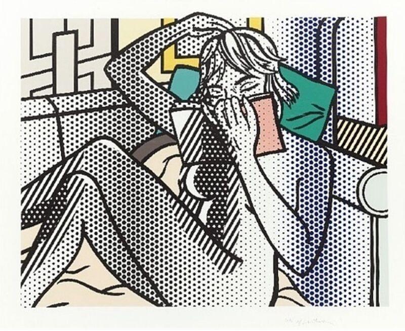 Roy Lichtenstein, 'Nude Reading', 1994, Print, Relief Print in Colors, David Benrimon Fine Art