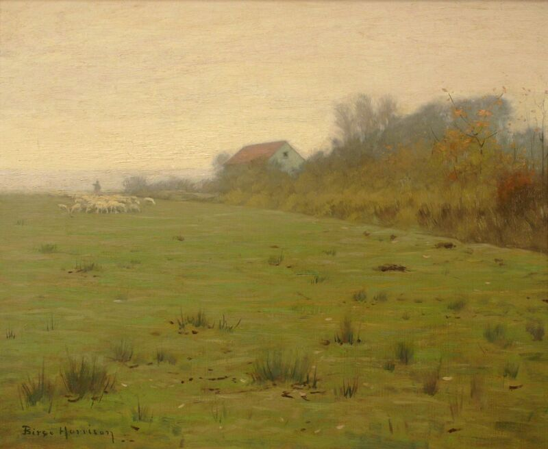 Lovell Birge Harrison, 'Woodstock Farm', ca. 1910, Painting, Oil on canvas, Private Collection, NY