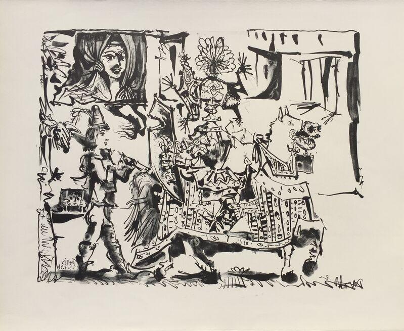 Pablo Picasso, 'Le Depart – The Departure (B. 686)', 1951, Print, Lithograph, Denis Bloch Fine Art