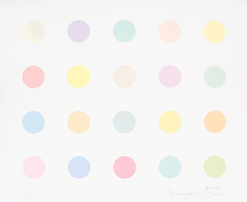 Damien Hirst, 'Spot Print - Vespula Vidua', 2011, Print, Silkscreen print with glaze, Samuel Owen Gallery
