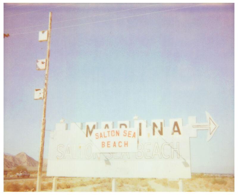 Stefanie Schneider, 'Salton Sea Marina (California Badlands)', 2016, Photography, Digital C-Print, based on a Polaroid, Instantdreams