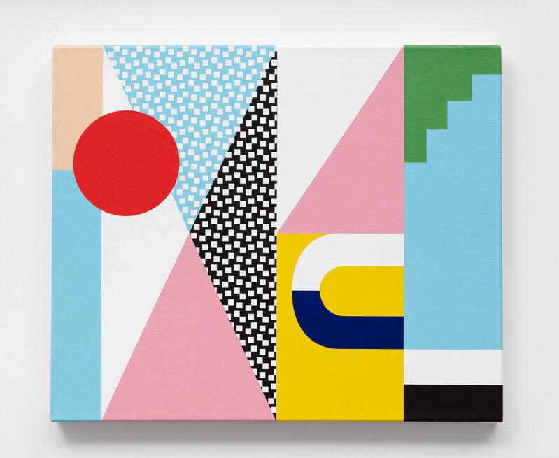 Douglas Coupland, 'Georgia', 2019, Painting, Acrylic on linen, Daniel Faria Gallery