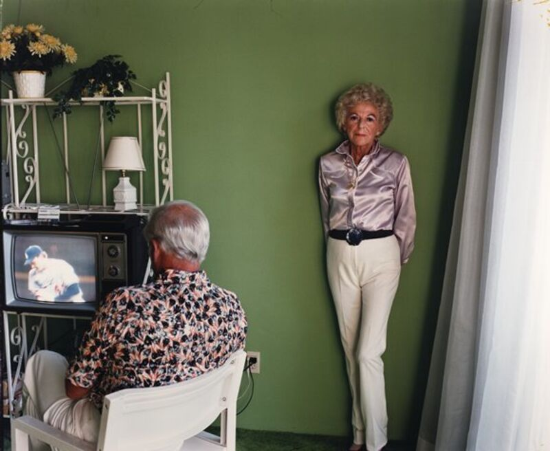 Larry Sultan, 'My Mother Posing For Me', 1984, Photography, S.M.A.K. Museum of Contemporary Art