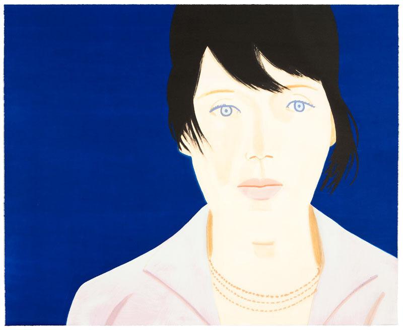 Alex Katz, 'Kym', 2011, Print, Screenprint, woodcut, Nikola Rukaj Gallery