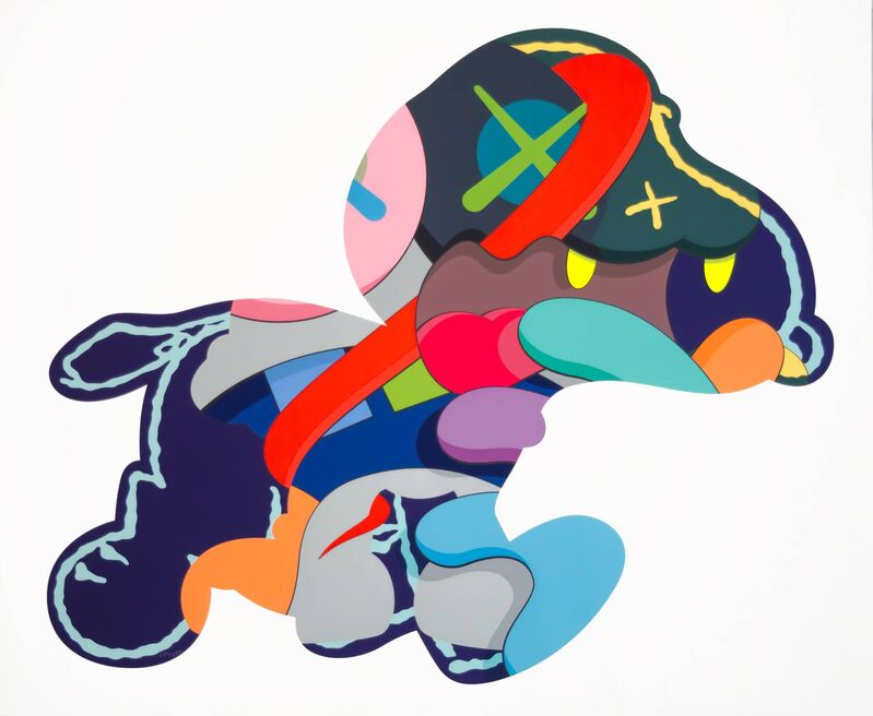 KAWS, 'Stay Steady', 2015, Print, Silkscreen on paper, Carmichael Gallery