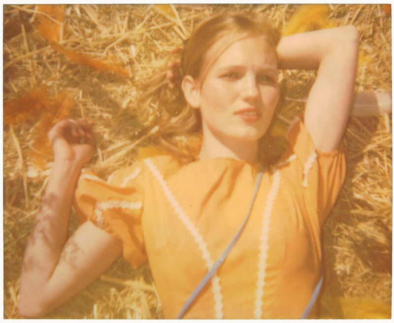Stefanie Schneider, 'Shotgun Wedding (Haley and the Birds)', 2013, Photography, Analog C-Print based on a Polaroid, hand-printed and enlarged by the artist on Fuji Crystal Archive Paper, not mounted., Instantdreams