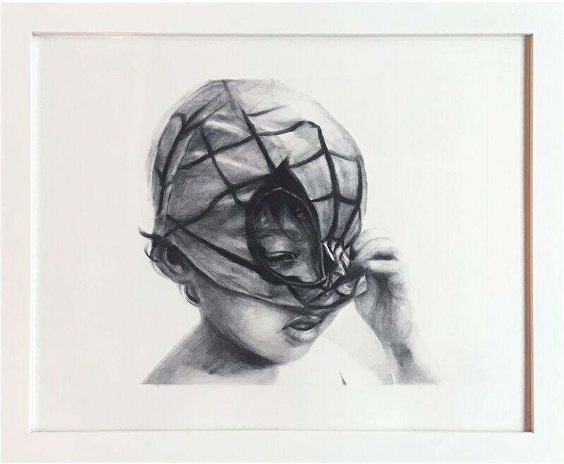 Evoca1, 'Unmask', 2020, Drawing, Collage or other Work on Paper, Graphite on Paper, StolenSpace Gallery