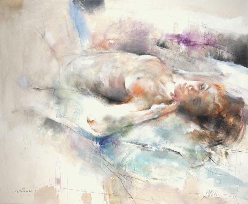 Gabriele Mierzwa, 'Awaken', 2013, Mixed Media, Mixed Media on Canvas, Artspace Warehouse