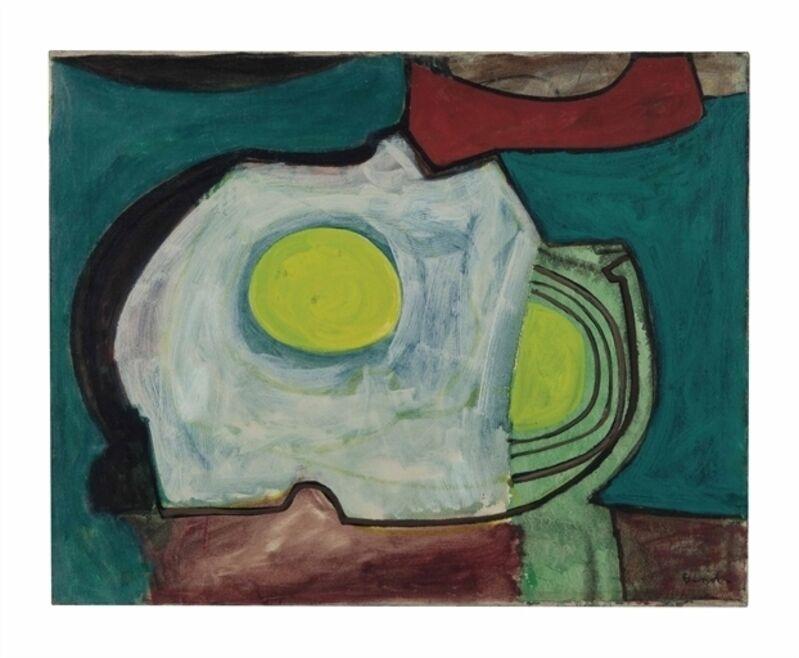 William Baziotes, 'Beach Shadow', Oil on canvas, Christie's