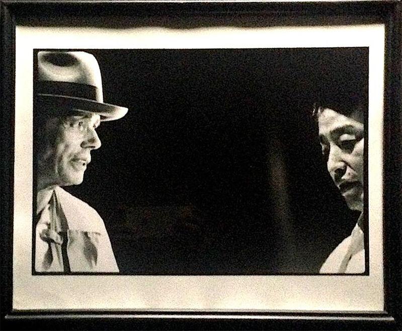 Paul Garrin, 'Joseph Beuys & Nam June Paik, Sogetsu Hall Tokyo, Japan', 1982, Photography, Vintage silver gelatin print, IFAC Arts