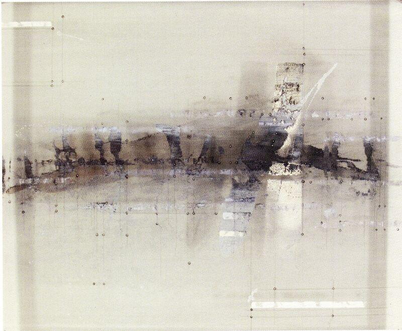 Enrique Brinkmann, 'Hilera curvada', 2007, Painting, Oil, graphite on steel net, Galeria Joan Gaspar