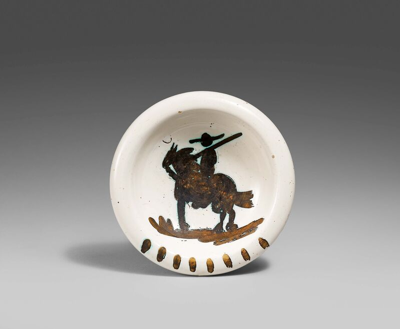 Pablo Picasso, 'Picador', 1952, Design/Decorative Art, White earthenware clay, partially polychromed, Van Ham