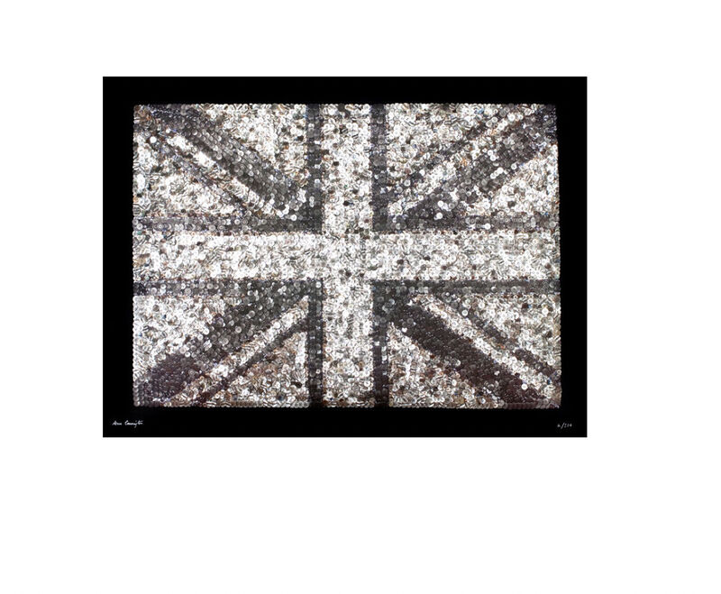 Ann Carrington, 'BLACK JACK OF BILLINGSGATE PRINT', 2015, Print, This print of the original is a full colour litho print with raised U.V. detail., Artemizia