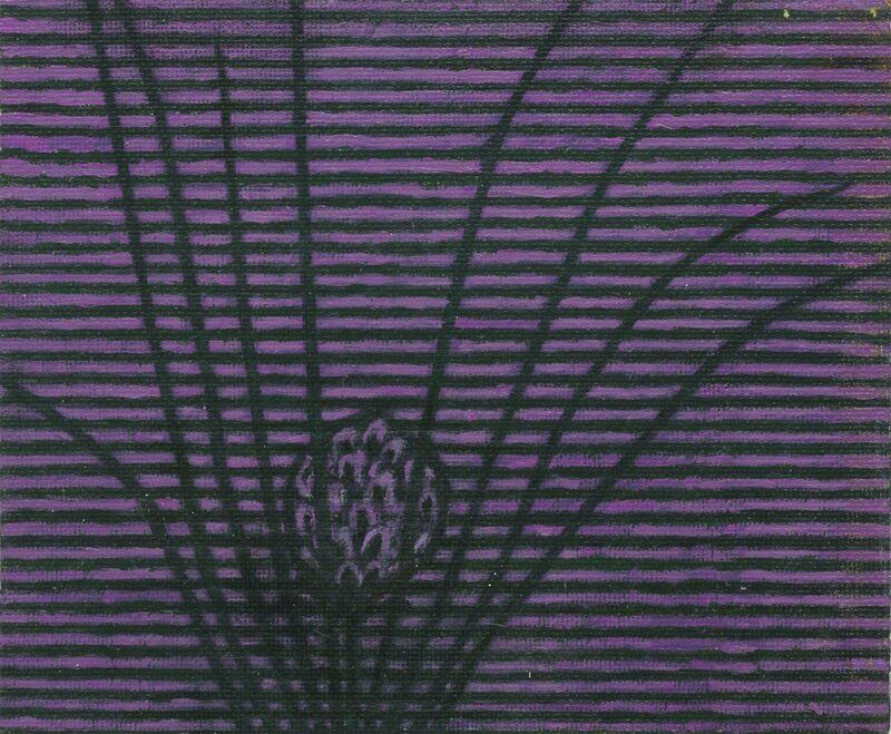 Prunella Clough, 'Artificial Flower', 1994, Painting, Oil on board, Annely Juda Fine Art