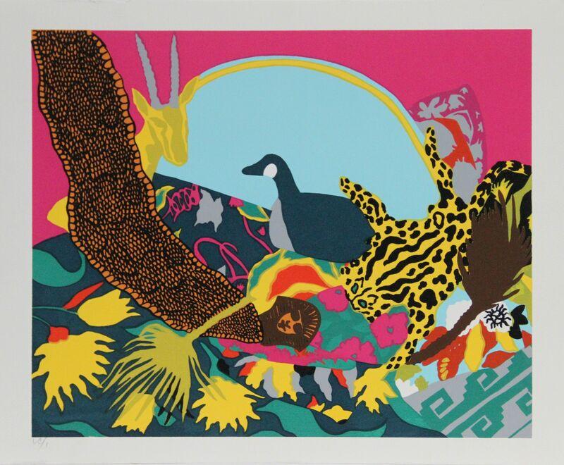 Hunt Slonem, 'Spell III', 1980, Print, Serigraph, RoGallery