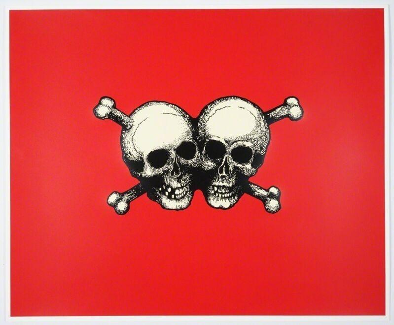Jake & Dinos Chapman, 'Double Deathshead', 1997, Print, Silkscreen, Weng Contemporary