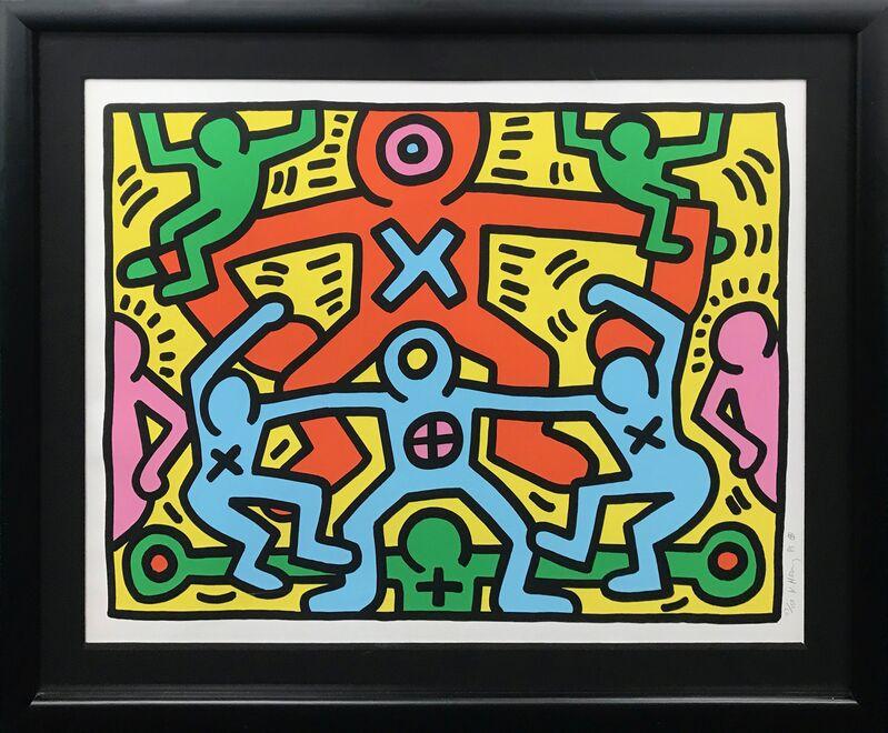 Keith Haring, 'UNTITLED', 1985, Print, SCREEN PRINT, Gallery Art
