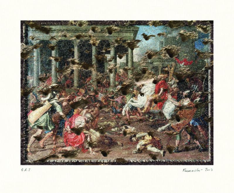 Heide Fasnacht, 'Triumph of Titus', 2013, Print, Digital Print, Lower East Side Printshop