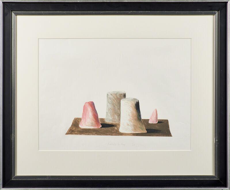 David Hockney, 'Imaginary Landscape', 1969, Print, Lithograph in colors (framed), Rago/Wright/LAMA