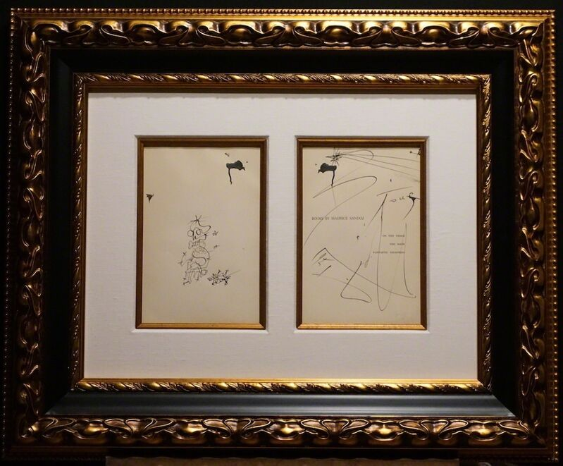Salvador Dalí, 'Original From The Book of Maurice Sandoz', ca. 1960's, Drawing, Collage or other Work on Paper, Pen and Ink Drawing, Fine Art Acquisitions Dali