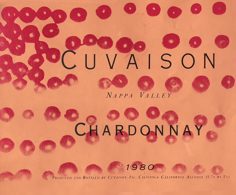 Andy Warhol, 'Cuvaison Chardonnay', 1980, Print, Screenprint in colors on paper, RestelliArtCo.