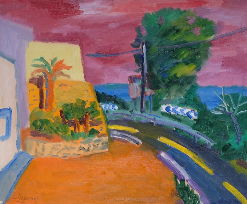Willy Ramos, 'Atardecer', Painting, Oil on canvas, Odon Wagner Gallery