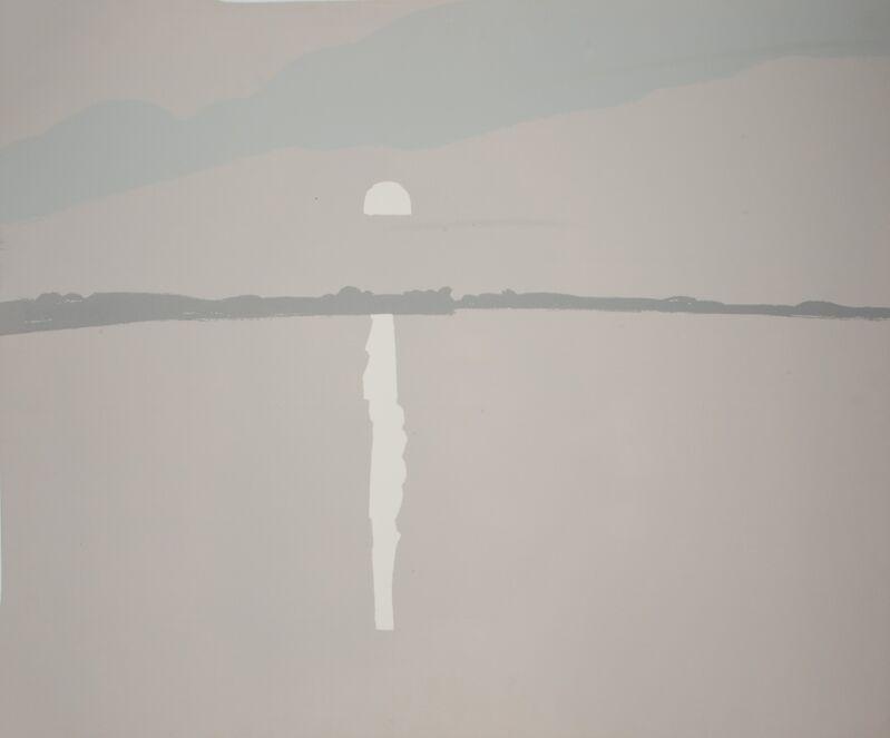 Alex Katz, 'Lake Wesserunset II (White Sun)', 1972, Print, Screenprint, Marlborough New York