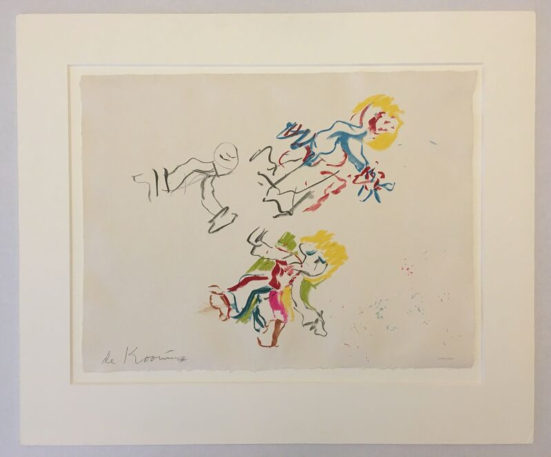 Willem de Kooning, 'Composition for Lisa', 1984, Print, Lithograph in colors on wove paper, Puccio Fine Art