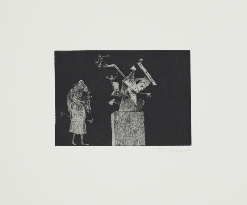 Jake Chapman, '10 from The Human Rainbow: from the blackened beyond', 2012, Print, Etching, Paragon