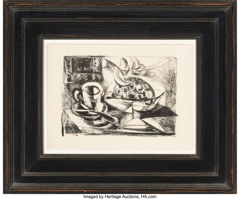 Pablo Picasso, 'Nature morte au Compotier', 1945, Print, Lithograph on wove paper, with full margins, Heritage Auctions