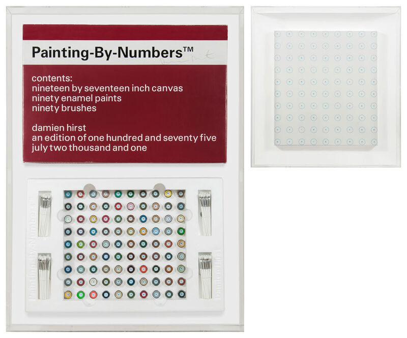Damien Hirst, 'Painting by Numbers 2', 2001, Sculpture, Mixed media, Artificial Gallery