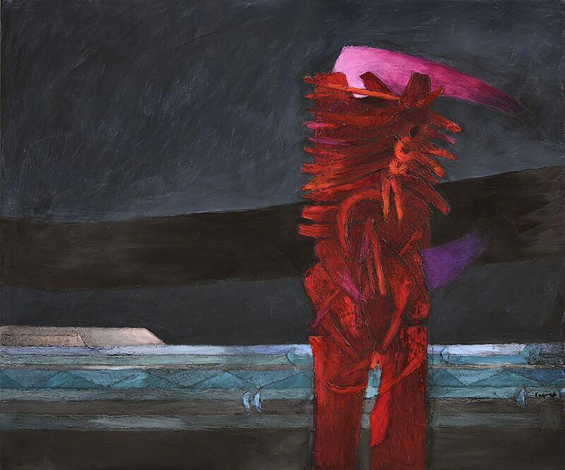 Fernando de Szyszlo, 'Paisaje', 2014, Painting, Acrylic on Canvas, Durban Segnini Gallery