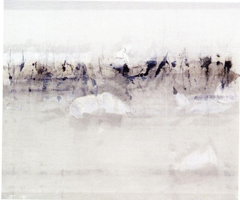 Enrique Brinkmann, 'Hilera Simple', 2007, Painting, Oil & graphite on steel net, Galeria Joan Gaspar