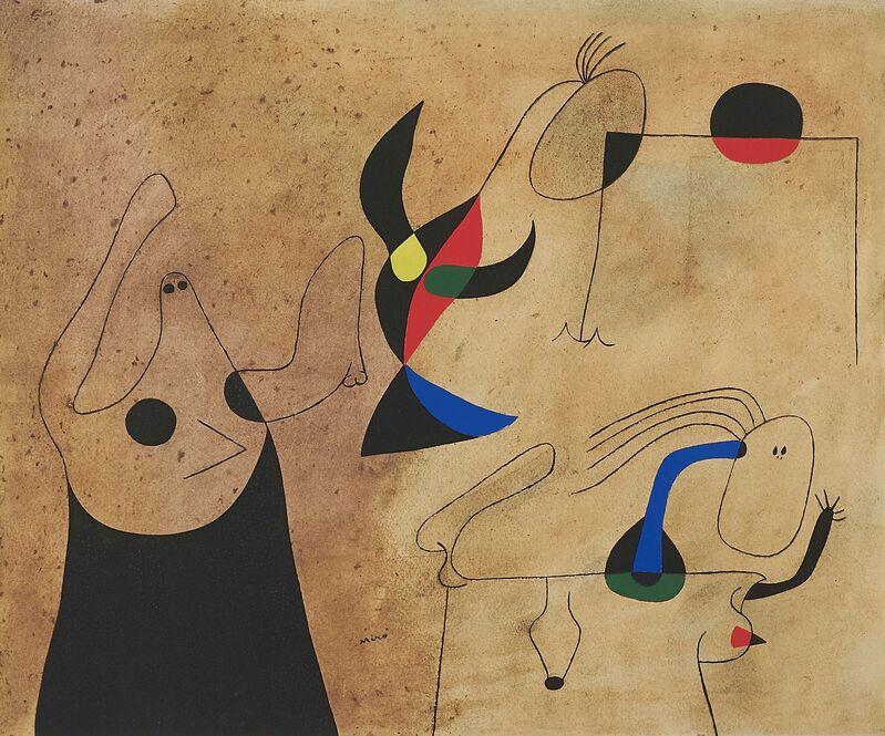 Joan Miró, 'From: Constellations', 1959, Print, Pochoir on laid paper, Van Ham