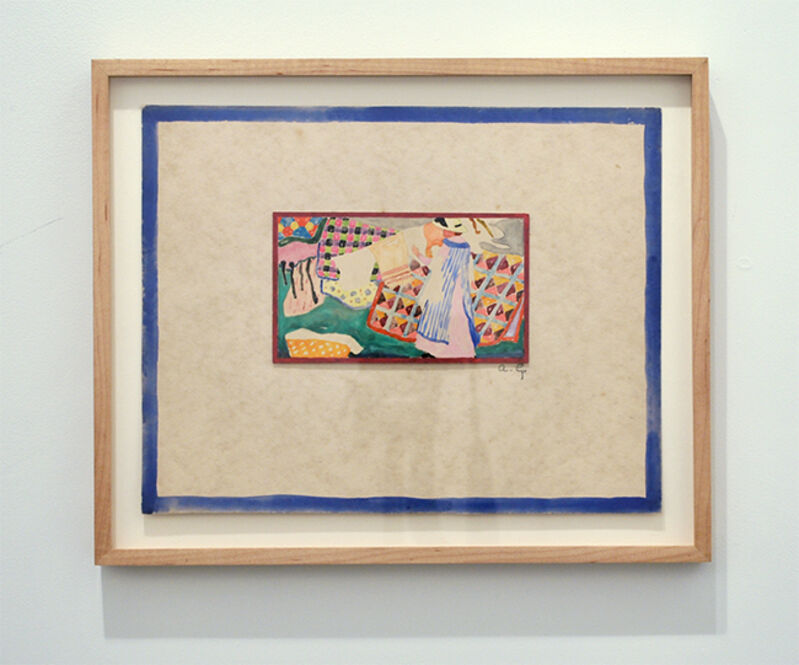 Ada Gilmore, '(Quilts)', 1915, Drawing, Collage or other Work on Paper, Watercolor, Mary Ryan Gallery, Inc