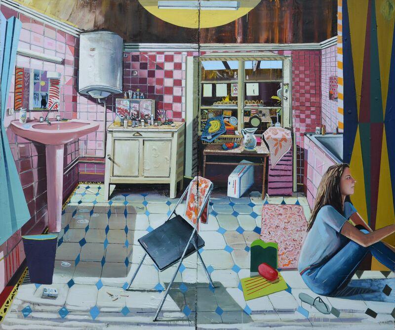Mathieu Cherkit, 'We are Pink', 2011, Painting, Maison Particulière